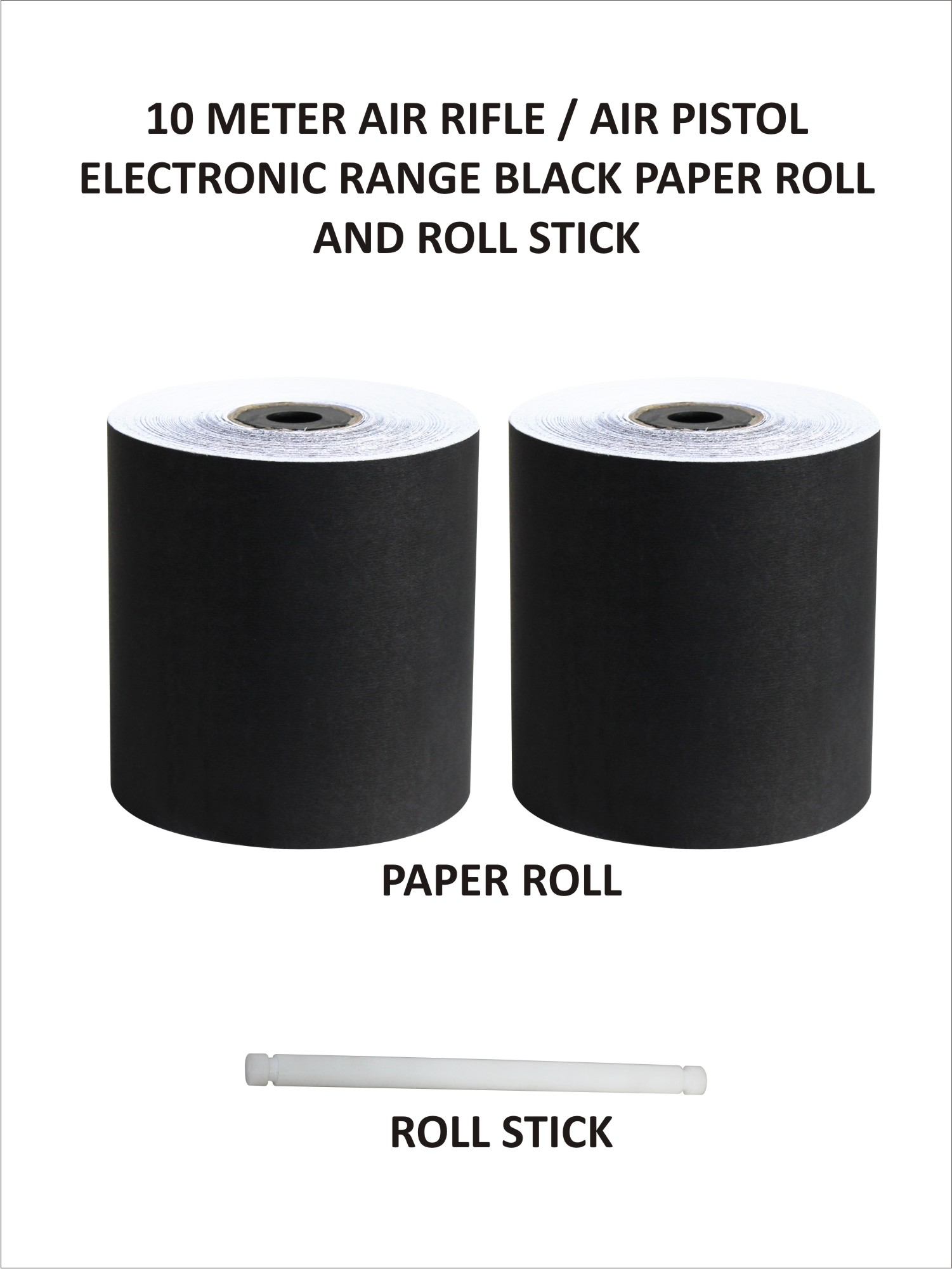 Black Paper Roll (10 Metres)