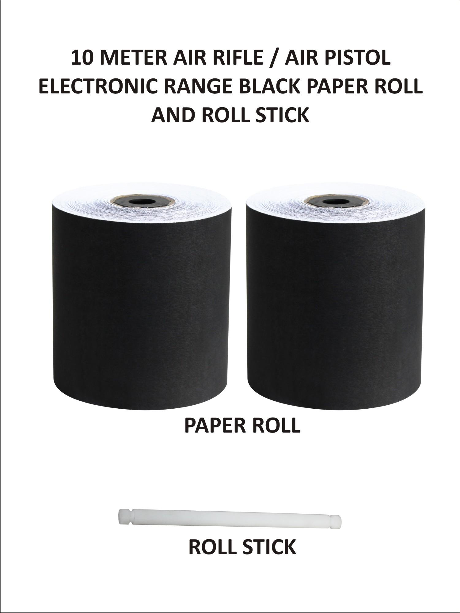 Black Paper Roll (10 Metres)