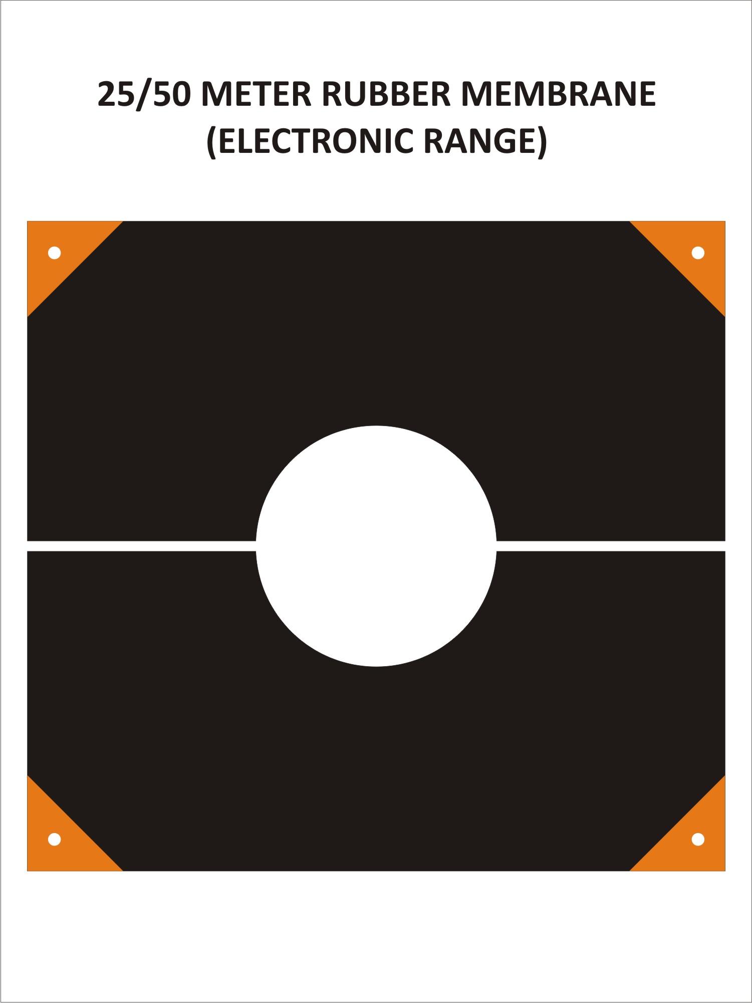 Black Rubber Membrane ( 25 Metres)